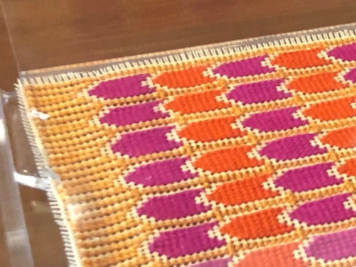 Lilas Plexi Tray w/ Embroidered Insert