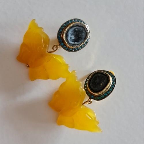 Butterfly Gem Earrings