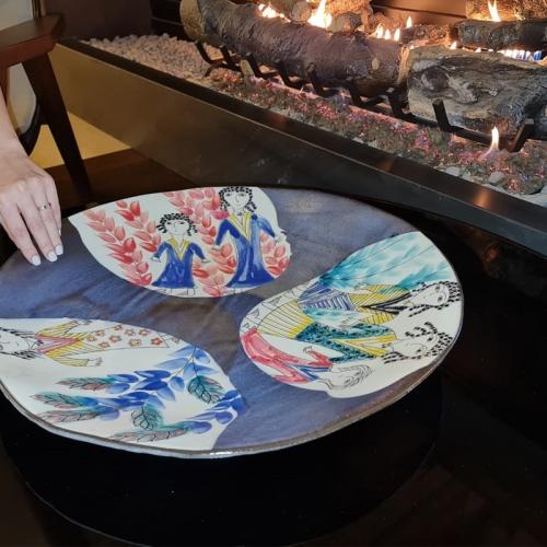 Together Decorative Plate