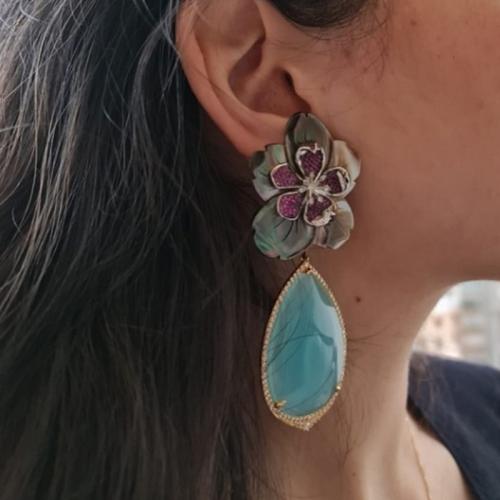 Spring Time Blooms Earrings