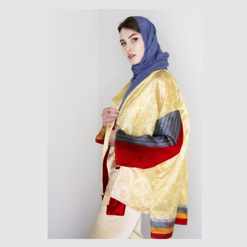 Silk light jacket