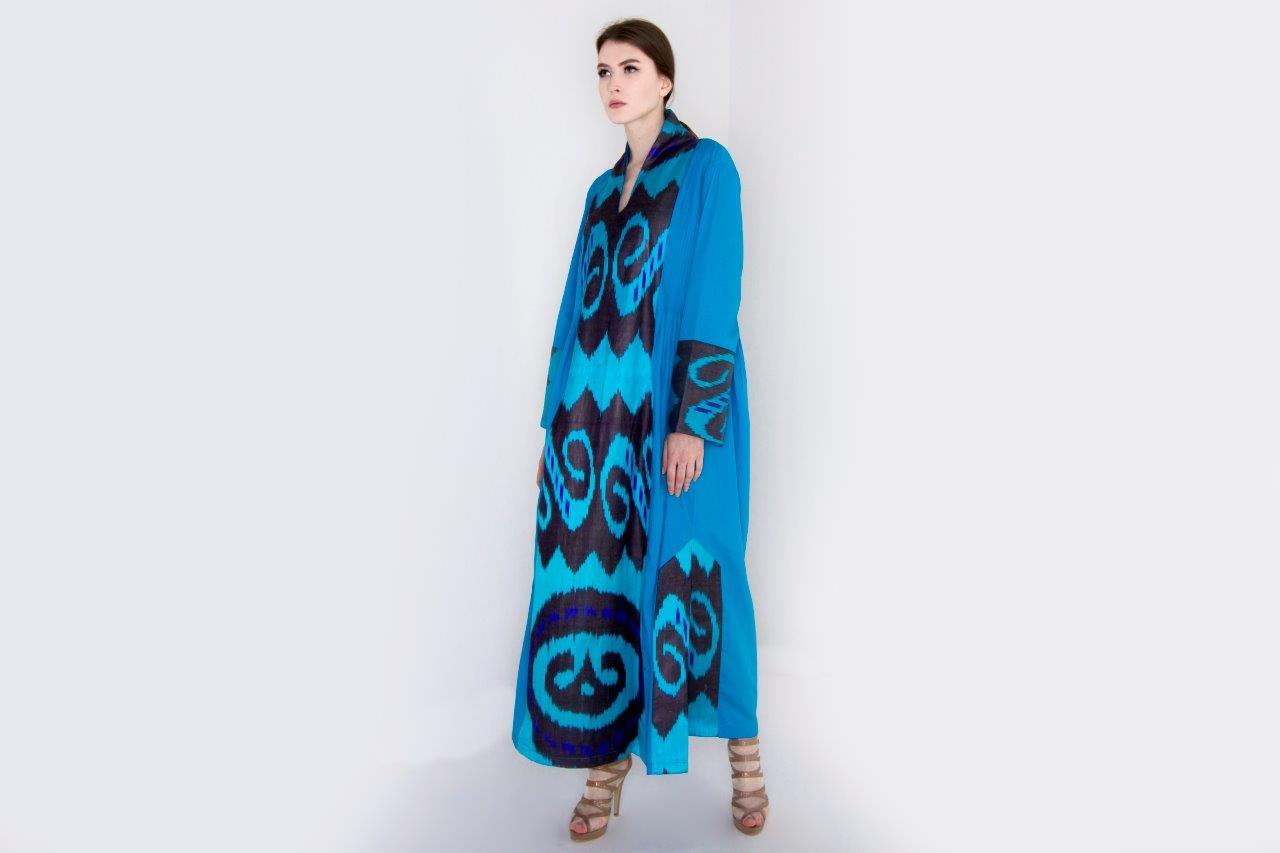 Azur icat abaya