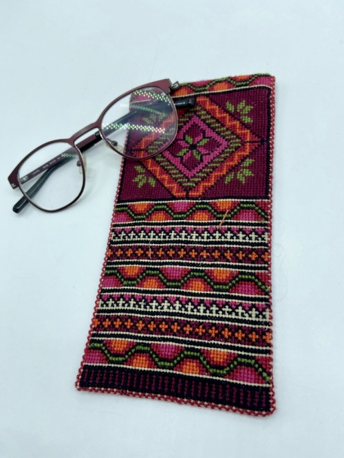 Hand Embroidery SunGlasses Cover