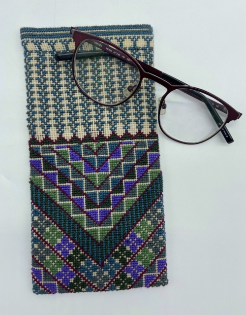 Hand Embroidered Eyeglasses cover