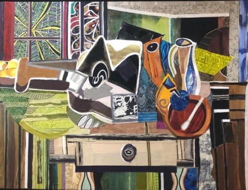Still Life Composition 2 Mixed Media Artwork