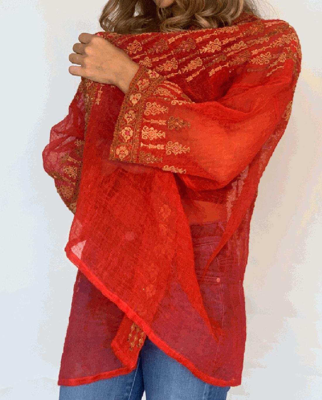 Najaf Hand-embroidered beaded Jacket